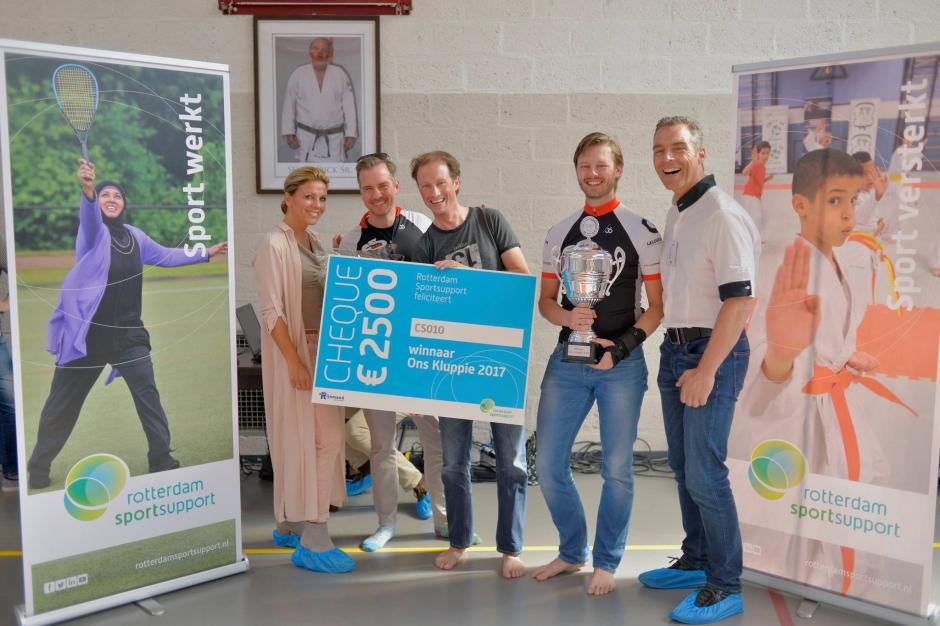CS010 Winnaar Ons Kluppie 2017 - Rotterdam - Wielrennen